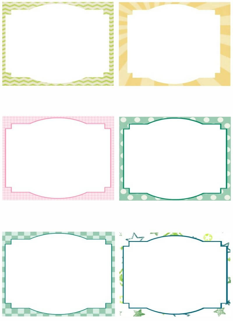 Free Note Card Template. Image Free Printable Blank Flash With Regard To Blank Index Card Template