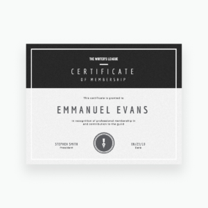 Free Online Certificate Maker: Create Custom Designs Online intended for Iq Certificate Template