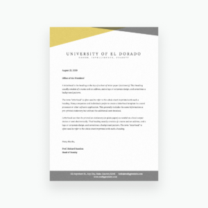 Free Online Letterhead Maker With Stunning Designs – Canva regarding Headed Letter Template Word