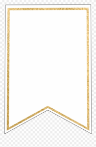 Free Pennant Banner Template, Download Free Clip Art in Letter Templates For Banners