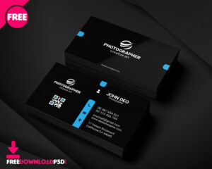 Free Personal Business Card Template | Freedownloadpsd intended for Free Personal Business Card Templates