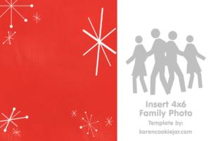 Free Photo Christmas Card Template – Karen Cookie Jar regarding Blank Christmas Card Templates Free
