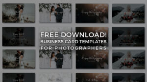 Free Photographer Business Card Templates! – Signature Edits throughout Photography Business Card Templates Free Download
