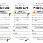 Free Pledge Card Template   Cardnletter.co Pertaining To Fundraising Pledge Card Template