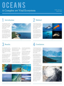 Free Poster Templates & Examples [15+ Free Templates] throughout Powerpoint Poster Template A0