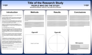 Free Powerpoint Scientific Research Poster Templates For Regarding Powerpoint Poster Template A0