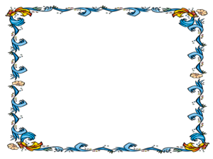 Free Powerpoint Template – Floral Certificate Border for Certificate Border Design Templates