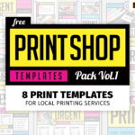 Free Print Shop Templates For Local Printing Services In Free Templates For Cards Print