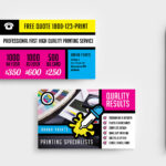 Free Print Shop Templates For Local Printing Services With Free Templates For Cards Print