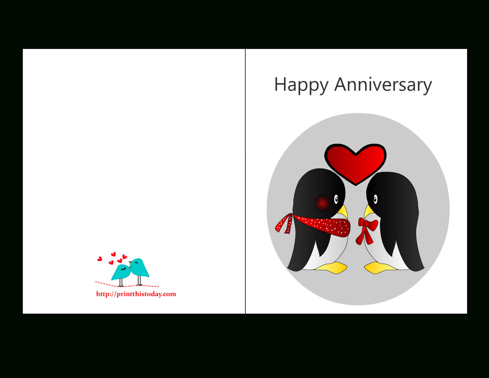 Free Printable Anniversary Cards In Word Anniversary Card Template
