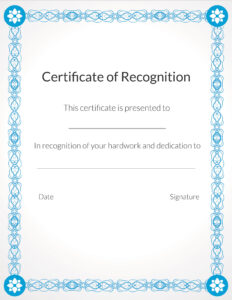 Free Printable Appreciation Certificate Parent Certificates within Free Vbs Certificate Templates