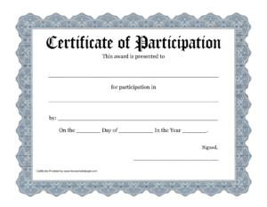 Free Printable Award Certificate Template – Bing Images with Free Student Certificate Templates