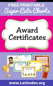 Free Printable Award Certificates For Kids | Homeschool for Sports Day Certificate Templates Free