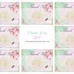 Free Printable Baby Shower Thank You Cards – Hizir.kaptanband.co For Template For Baby Shower Thank You Cards