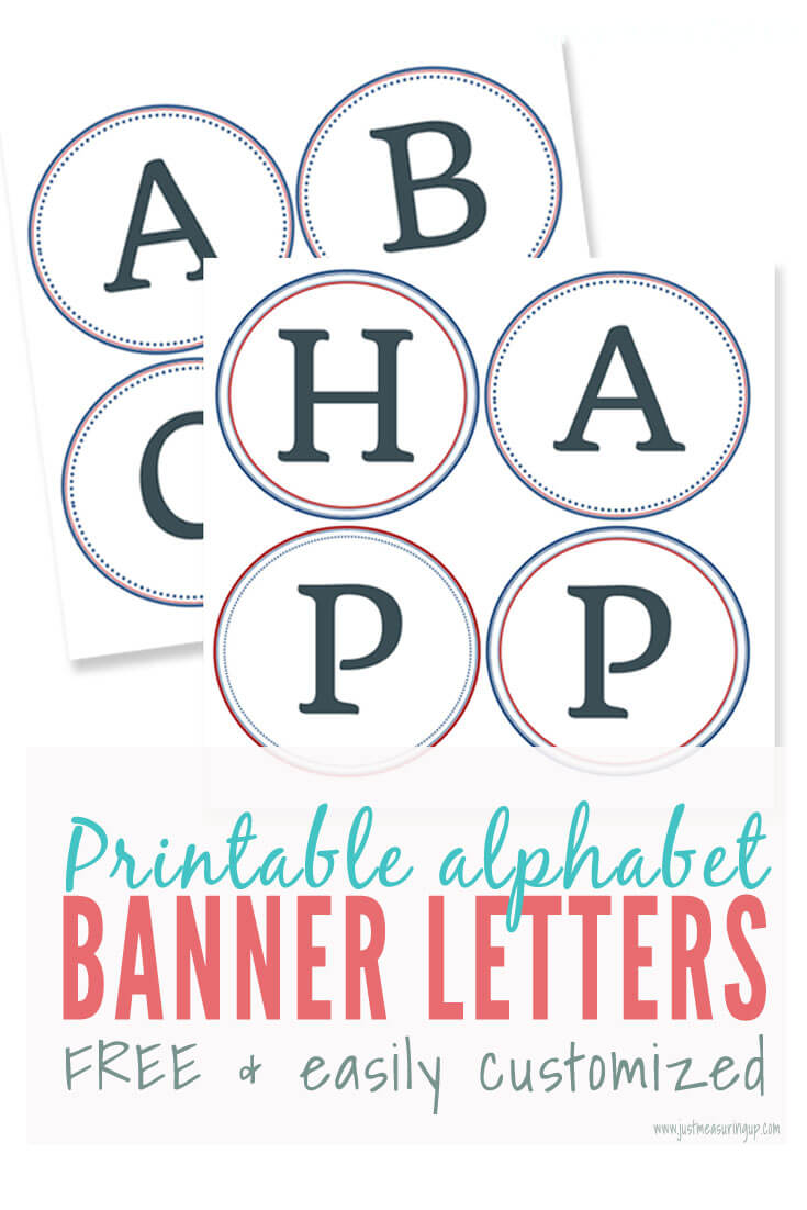 Free Printable Banner Letters   Make Easy Diy Banners And Signs With Free Letter Templates For Banners