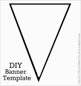 Free Printable Banner Templates Prettier Free Printable Abc within Free Printable Pennant Banner Template
