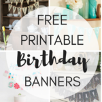 Free Printable Birthday Banners – The Girl Creative With Regard To Free Printable Party Banner Templates