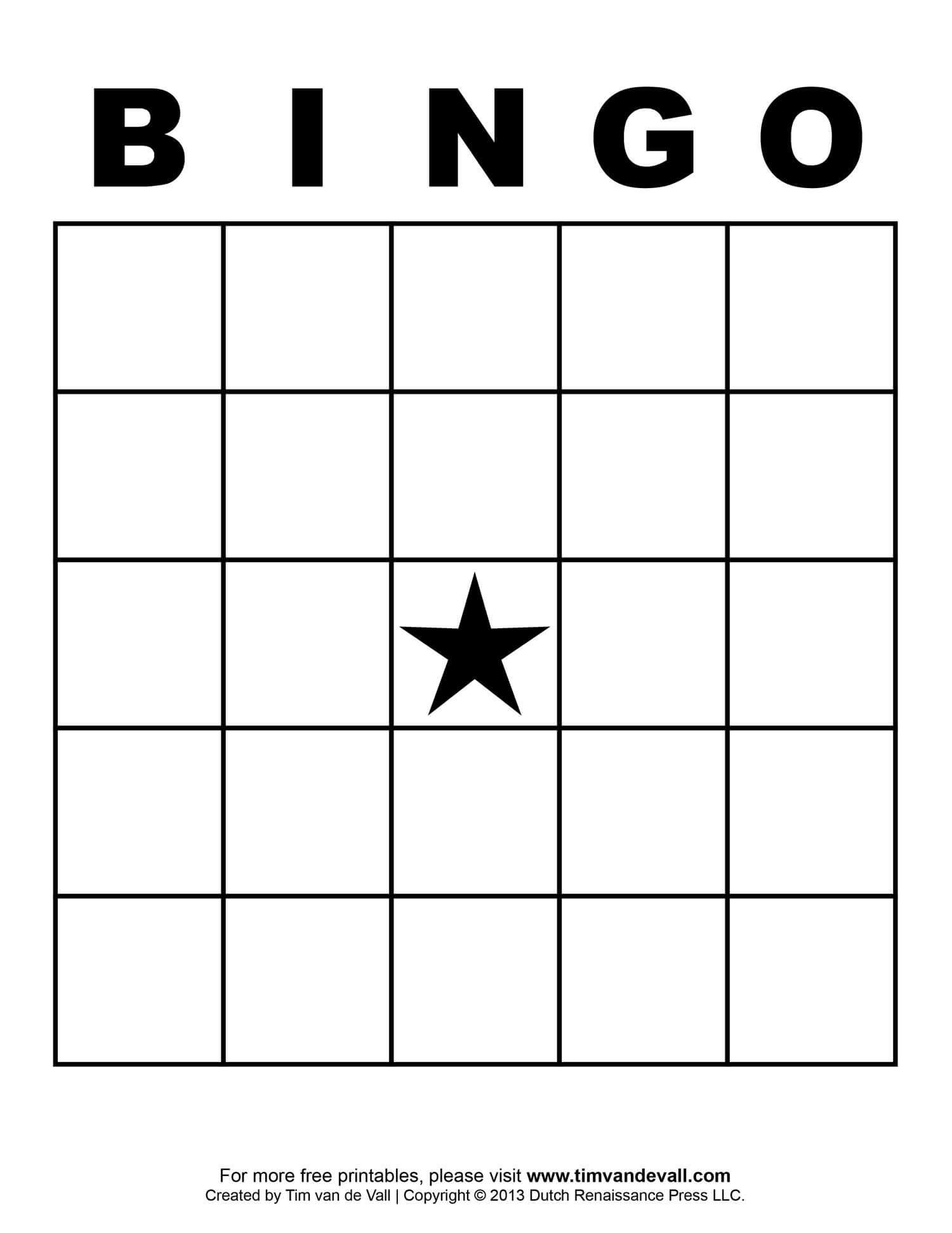 Free Printable Blank Bingo Cards Template 4 X 4 | Classroom Regarding Blank Bingo Template Pdf