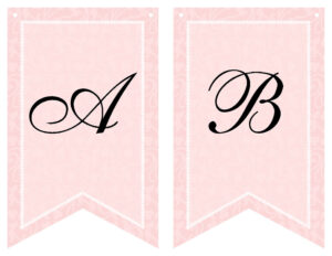Free Printable Bridal Shower Banner | Vow Renewal | Bridal In Bride To Be Banner Template