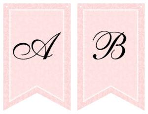 Free Printable Bridal Shower Banner | Vow Renewal | Bridal in Printable Banners Templates Free