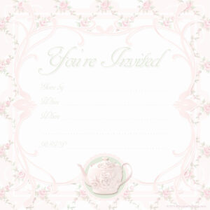 Free Printable Bridal Shower Invitation Templates For Word intended for Blank Bridal Shower Invitations Templates