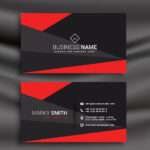 Free Printable Business Card Template – Set Your Plan With Free Editable Printable Business Card Templates