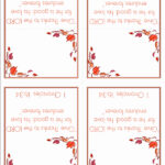 Free Printable Card Templates Of Free Templates For Intended For Thanksgiving Place Cards Template