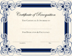 Free Printable Certificate Templates For Teachers for Best Teacher Certificate Templates Free