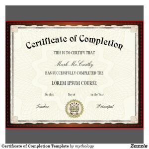 Free Printable Certificates | Certificate Templates In Certificate Of Completion Template Free Printable