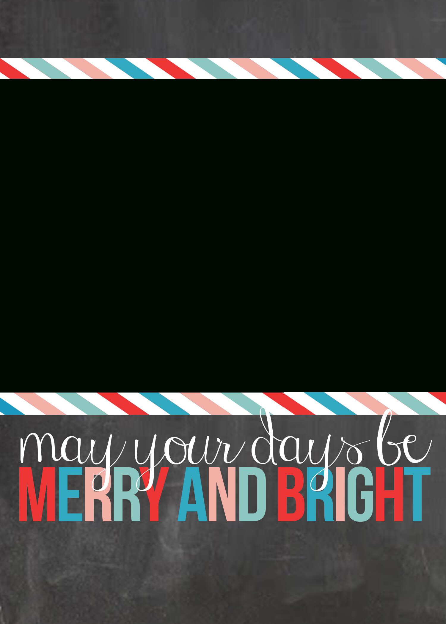 Free Printable Christmas Cards {Customize With Your Own Photo!} With Regard To Printable Holiday Card Templates