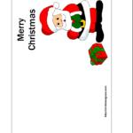 Free Printable Christmas Cards | Free Printable Christmas regarding Printable Holiday Card Templates