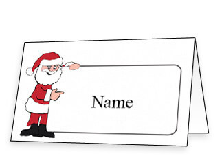 Free Printable Christmas Place Cards And Place Card Inside Christmas Table Place Cards Template