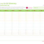 Free Printable Do List Work | Travel Itinerary Template Free For Blank Trip Itinerary Template