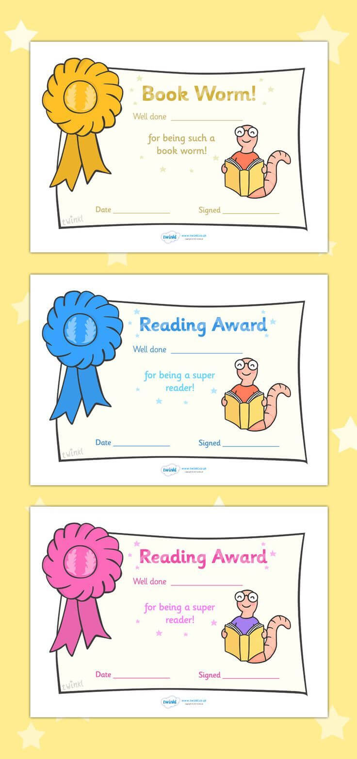 Free Printable Editable Reading Award Certificates … | First With Regard To Math Certificate Template