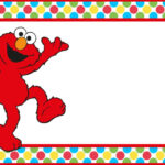 Free Printable Elmo Party Invitation Template | Coolest with Elmo Birthday Card Template