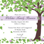 Free Printable Family Reunion Invitations | Mult Igry Inside Reunion Invitation Card Templates