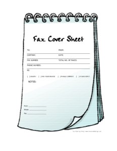 Free Printable Fax Cover Sheets | Free Printable Fax Cover inside Fax Cover Sheet Template Word 2010
