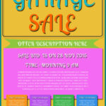 Free Printable Garage Sale Flyers Templates – Attract More Throughout Yard Sale Flyer Template Word