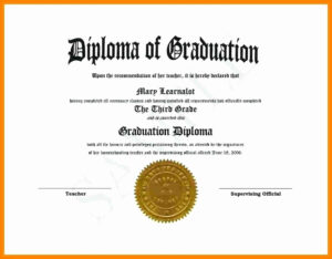 Free Printable Ged Templates Or 9 High School Diploma for Free Printable Graduation Certificate Templates