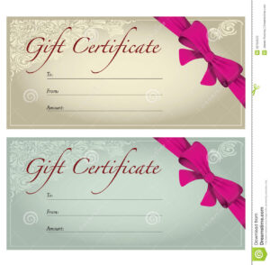 Free Printable Gift Vouchers Template Certificate Templates pertaining to Free Photography Gift Certificate Template