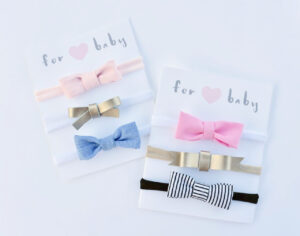 Free Printable Hair Bow Cards For Diy Hair Bows And pertaining to Headband Card Template