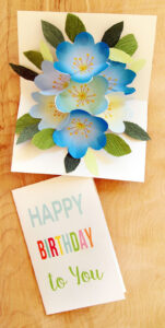Free Printable Happy Birthday Card With Pop Up Bouquet – A with regard to Pop Up Card Templates Free Printable