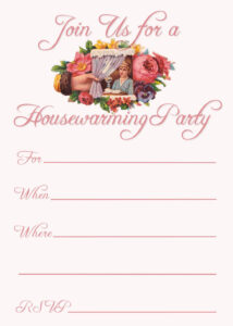 Free Printable Housewarming Party Invitations | Housewarming For Free Housewarming Invitation Card Template