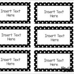 Free Printable Label Templates For Word | Bravebtr Within Blank Word Wall Template Free