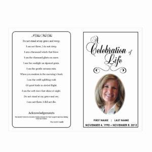 Free Printable Memorial Card Template Or Free Funeral inside Memorial Card Template Word