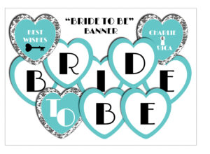 Free Printable Miss To Mrs Banner | Free Printable Download intended for Free Bridal Shower Banner Template