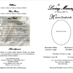 Free Printable Obituary Templates – Teplates For Every Day In Fill In The Blank Obituary Template