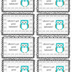 Free Printable Punch Card Template And Whooo S Got Good Inside Free Printable Punch Card Template