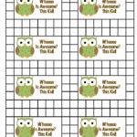 Free Printable Punch Card Template For Best S Of Student Intended For Reward Punch Card Template