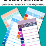 Free Printable Punch Card Template | Mult Igry With Free Printable Punch Card Template